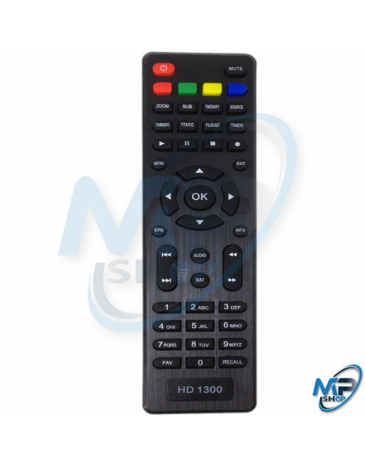 TELECOMMANDE  RECEPTEUR HD1300