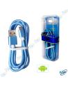 CÂBLE USB MICRO USB POUR SMARTPHONE